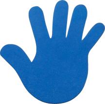 Bodenmarkierungshilfe Hand