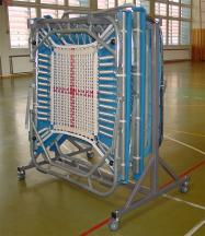 Transportwagen für Minitrampolin