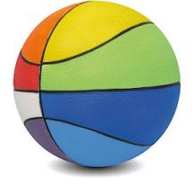 Basketball aus Schaumstoff Multicolor