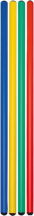 PVC-Stab ohne Eisenspitze, Länge: 100 cm