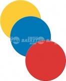 Balisage de sol: Lot de 12 cercles de marquage