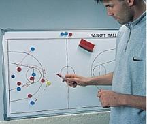 Magnet-Taktiktafel Basket, Grösse: 45 x 30 cm