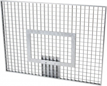 Basketballbrett aus Stahldrahtgewebe, 180x105