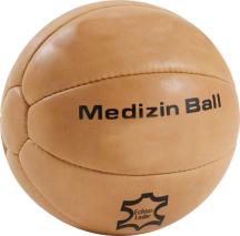 Medizinball, Leder, 5 kg