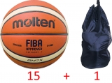 Pack éco > Ballon de Basket Molten GM