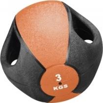 Medizinball mit Griffen, 3 kg