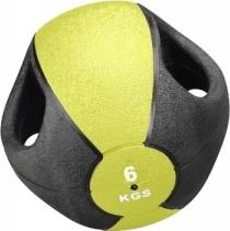 Medizinball mit Griffen, 6 kg